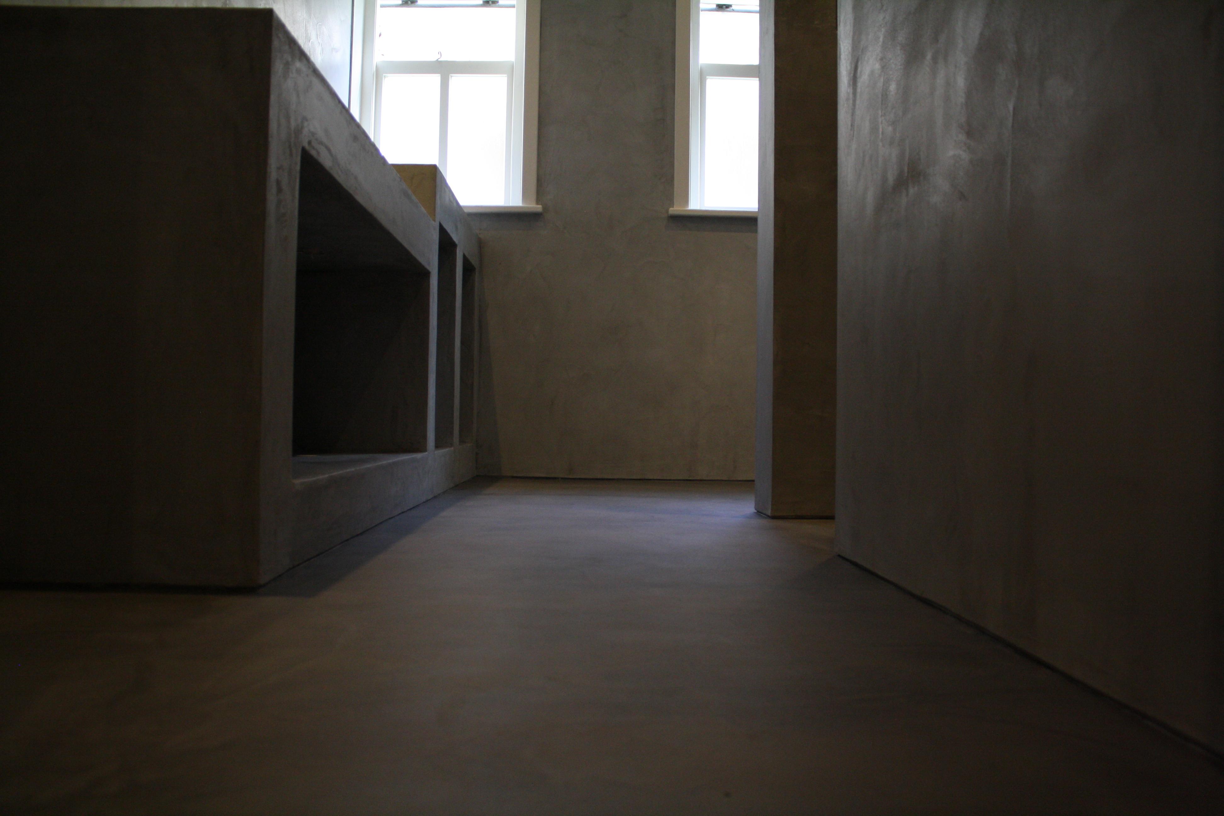 Bankje Voor Badkamer ~ Beal Mortex vloer en wand Eastermar 016